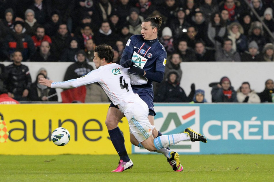 Goal Zlatan IBRAHIMOVIC / Lucas MENDES