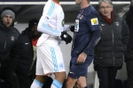 Altercation Jordan AYEW / David BECKHAM