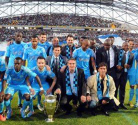 Equipe Marseille actuelle / Equipe de 1993 vainqueur de la Coupe d'Europe