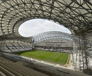 Illustration Stade Velodrome - Configuration Rugby
