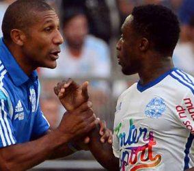 Franck Passi -  Brice Dja Djejde - Olympique de Marseille (OM)