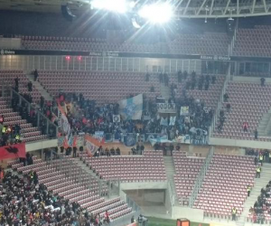Parcage supporters olympiens - Nice - OM (2-1) - @FCM