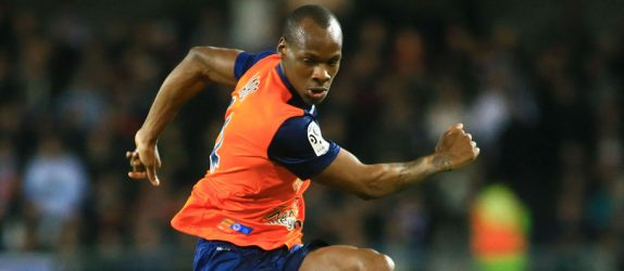 Bryan DABO - 09.01.2015 - Montpellier / Marseille - 20eme journee de Ligue 1 Photo : Nicolas Guyonnet / Icon Sport