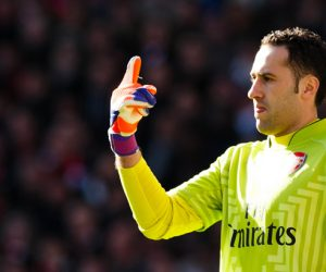 David Ospina - 01.03.2015 - Arsenal / Everton - 27eme journee de Premier League Photo : Ben Queenborough / BPI / Icon Sport
