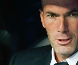 Zinedine Zidane - 22.09.2013 - Real Madrid / Getafe - 5eme journee de Liga Photo : LOF / Icon Sport