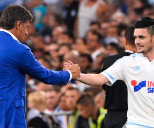 MICHEL / Remy CABELLA - 23.08.2015 - Marseille / Troyes - 3eme journee de Ligue 1 Photo : Gaston Petrelli / Icon Sport