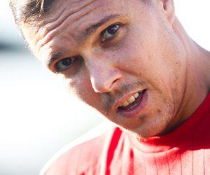 Yohann PELE - 28.07.2015 - Marseille / Livourne - Match Amical Photo : Alexandre Dimou / Icon Sport