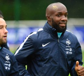 Lassana DIARRA / Mathieu VALBUENA - 05.10.2015 - Entrainement -Equipe de France -Clairefontaine Photo: Dave Winter / Icon Sport