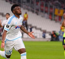 Joie Georges Kevin NKOUDOU - 05.11.2015 - Marseille / Braga - Europa League Photo : Gaston Petrelli / Icon Sport