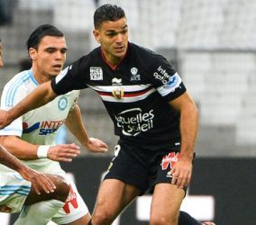 Hatem BEN ARFA - 08.11.2015 - Marseille / Nice - 13eme journee de Ligue 1 Photo : Gaston Petrelli / Icon Sport