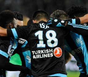 Joie Marseille - 22.11.2015 - Saint Etienne / Marseille - 14eme journee de Ligue 1 Photo : Jean Paul Thomas / Icon Sport
