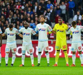 Groupe Mareille - 25.10.2015 - Lille / Marseille - 11eme journee de Ligue 1 Photo: Dave Winter / Icon Sport