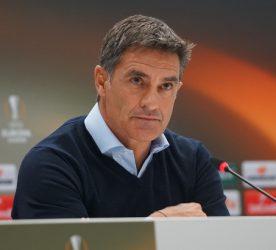 Michel, entraineur de l'Olympique de Marseille (OM)