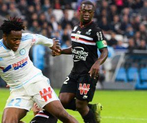 Michy BATSHUAYI - 08.11.2015 - Marseille / Nice - 13eme journee de Ligue 1 Photo : Gaston Petrelli / Icon Sport