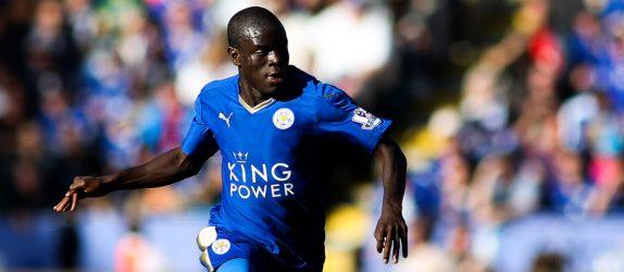 Ngolo Kante - 26.09.2015 - Leicester / Arsenal - 7eme journee de Premier League Photo : James Marsh / BPI / Icon Sport