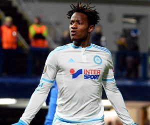Michy BATSHUAYI - 10.12.2015 - Slovan Liberec / Marseille - Europa League  Photo :  Gaston Petrelli / Icon Sport