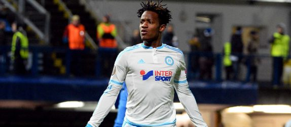 Michy BATSHUAYI - 10.12.2015 - Slovan Liberec / Marseille - Europa League  Photo :  Gaston Petrelli / Icon Sport