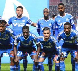 Equipe Marseille - 03.12.2015 - Rennes / Marseille - 16eme journee Ligue 1 Photo : Nolwenn Le Gouic / Icon Sport