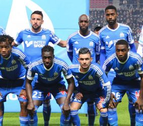 Equipe Marseille - 03.12.2015 - Rennes / Marseille - 16eme journee Ligue 1 Photo : Nolwenn Le Gouic / Icon Sport