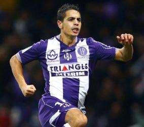 Joie Wissam Ben Yedder  - 05.12.2015 - Toulouse / Lorient - 17e journee Ligue 1 Photo : Manuel Blondeau / Icon Sport