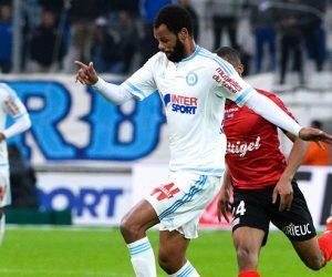 Jorge ROLANDO - 10.01.2016 - Marseille / Guingamp - 20eme journee de Ligue 1 Photo : Gaston Petrelli / Icon Sport
