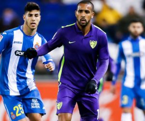 Fernando Tissone - 21.11.2015 - Espanyol Barcelone / Malaga - 12eme journee de Liga Photo : Bagu Blanco / Icon Sport