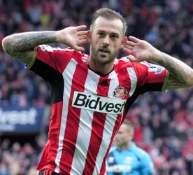Steven Fletcher - 04.10.2014 - Sunderland / Stoke City - 7eme journee de Premier League Photo : Greig Cowie / BPI / Icon Sport