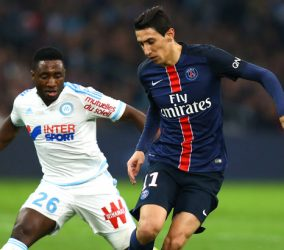 Angel di Maria - 07.02.2016 - Marseille / Paris Saint Germain - 25e journee de Ligue 1 Photo : Manuel Blondeau / Icon Sport