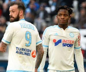 Steven Fletcher et Michy Batshuayi Olympique de Marseille - OM