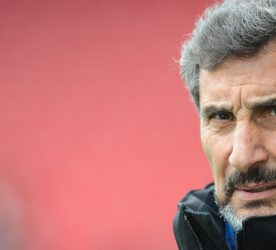 Mohed ALTRAD president of Montpellier during the French Top 14 rugby union match between Oyonnax v Montpellier at Stade Charles Mathon on March 13, 2016 in Oyonnax, France.
