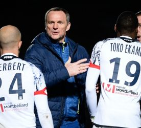 Karl TOKO EKAMBI / Albert CARTIER - 02.02.2016 - Creteil / Sochaux - 24eme journee Ligue 2 Photo : Nolwenn Le Gouic /  Icon Sport