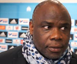 Basile Boli - Ancien défenseur de l'Olympique de Marseille