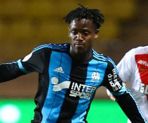 Michy Batshuayi - attaquant de l'OM - Carvalho - défenseur AS Monaco