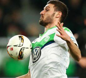 Daniel Caligiuri - 05.12.2015 - Wolfsbourg  /  Borussia Dortmund - 15e journee Bundesliga Photo : Firo / Icon Sport