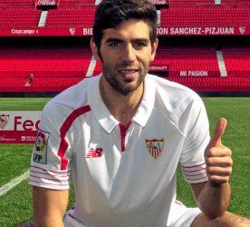 Federico Fazio   - 01.02.2016 - Presentation nouveau joueur du Seville FC - Liga Photo : Marca / Icon Sport   *** Local Caption ***