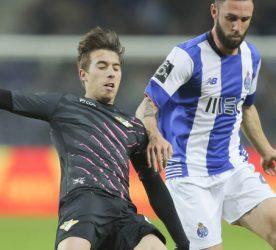 Iuri Medeiros / Miguel Layun - 21.02.2016 - Porto / Moreirense - 23eme journee de Liga Nos Photo : Pedro Correia / Global Images / Icon Sport