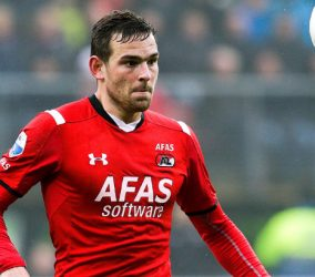 Vincent Janssen - 25.01.2016 - AZ Alkmaar / Feyenoord Rotterdam - Eredivisie Photo : VI Images / Icon Sport