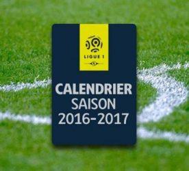 Calendrier de Ligue 1 2016 / 2017
