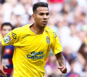 Jonathan Viera - 26.09.2015 - Barcelone / Las Palmas - 6eme journee de Liga Photo : Bagu Blanco / Icon Sport
