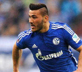 Sead KOLASINAC during the Bundesliga match between Schalke 04 and Bayer Leverkusen on 23th April, 2016 Photo : Firo / Icon Sport