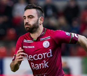 Onur Kaya - 12.12.2015 - Zulte Waregem / Waasland Beveren - 19eme journee de Jupiler Pro League  Photo : Kristof Van Accom / Belga / Icon Sport *** Local Caption *** -