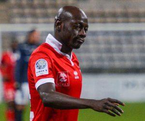 Ousmane Cissokho - 12.02.2016 - Paris FC / Nimes - 26eme journee de Ligue 2 Photo : Anthony Dibon / Icon Sport