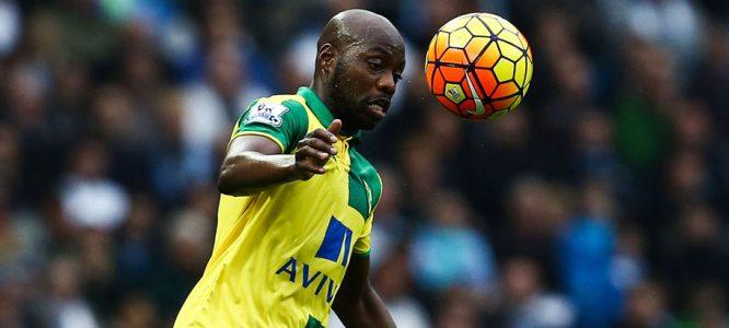 Youssuf Mulumbu - 31.10.2015 - Manchester City / Norwich - 11eme journee de Premier League Photo : Matt West / BPI / Icon Sport