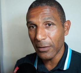 Franck Passi - Zone mixte OM - Ajax (2-2)