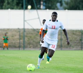 Alfred NDIAYE - 14.08.2013 - Senegal / Zambie  - Match Amical -Saint Leu- Photo: Fred Porcu / Icon Sport