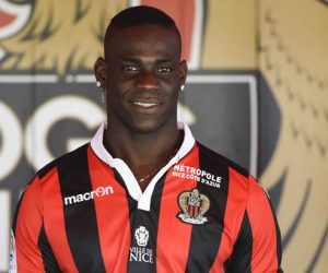 New signing player of Nice Mario Balotelli during press conference of OGC Nice on September 2, 2016 in Nice, France. (Photo by Della Zuana / Icon Sport)