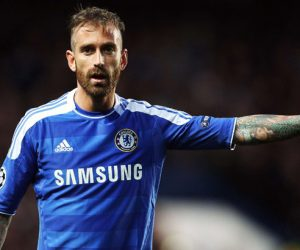 Raul Meireles - 18.04.2012 - Chelsea / Barcelone - 1/2Finale aller Champions League Photo : Spi / Icon Sport