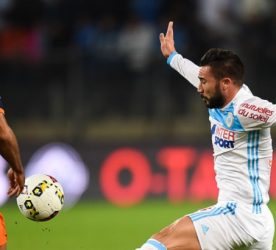 Vitorino Hilton of Montpellier and Romain Alessandrini of Marseille during the ligue 1 match between Montpellier Herault and Olympique de Marseille at Stade de la Mosson on November 4, 2016 in Montpellier, France. (Photo by Alexandre Dimou/Icon Sport)