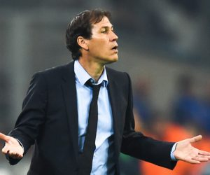 Rudi Garcia Coach of Marseille during the French Ligue 1 match between Marseille and Bordeaux at Stade Velodrome on October 30, 2016 in Marseille, France. (Photo by Alexandre Dimou/Icon Sport)