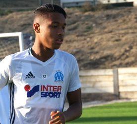 Boubacar Kamara - défenseur Olympique de Marseille - photo Footballclubdemarseille.fr
